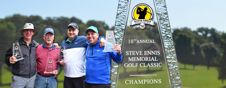Rhyme Steve Ennis Memorial Golf Classic 2019 winners