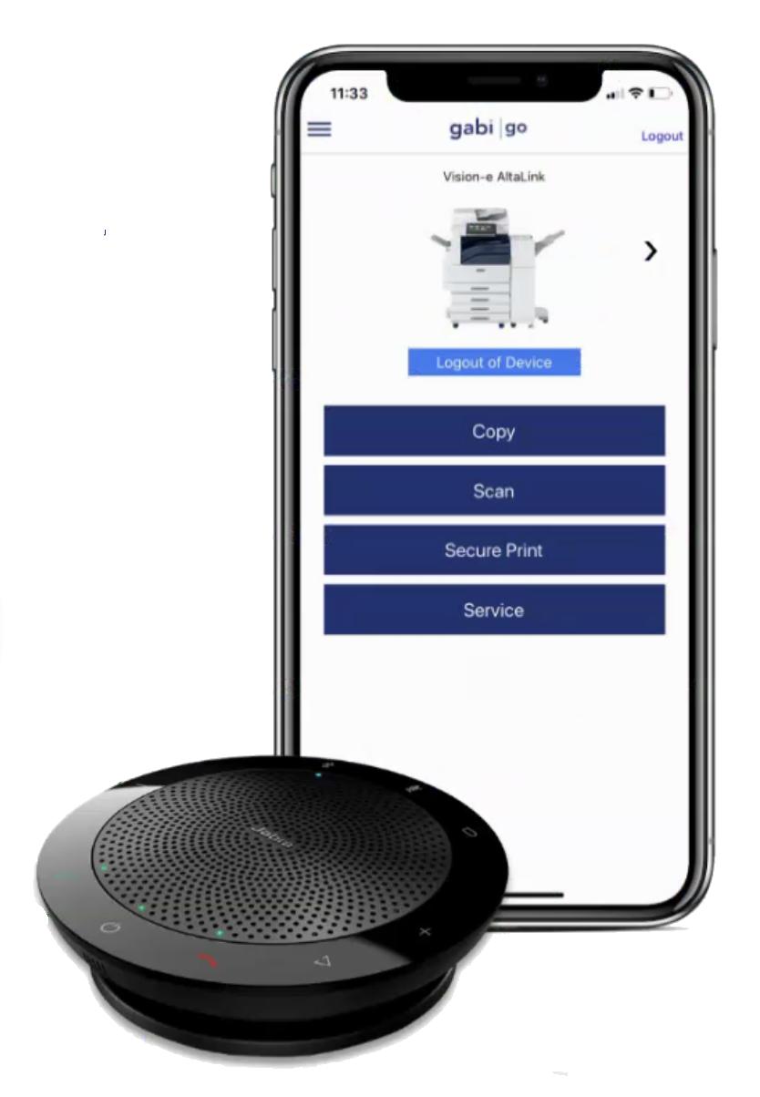 Gabi Voice App for Smartphones