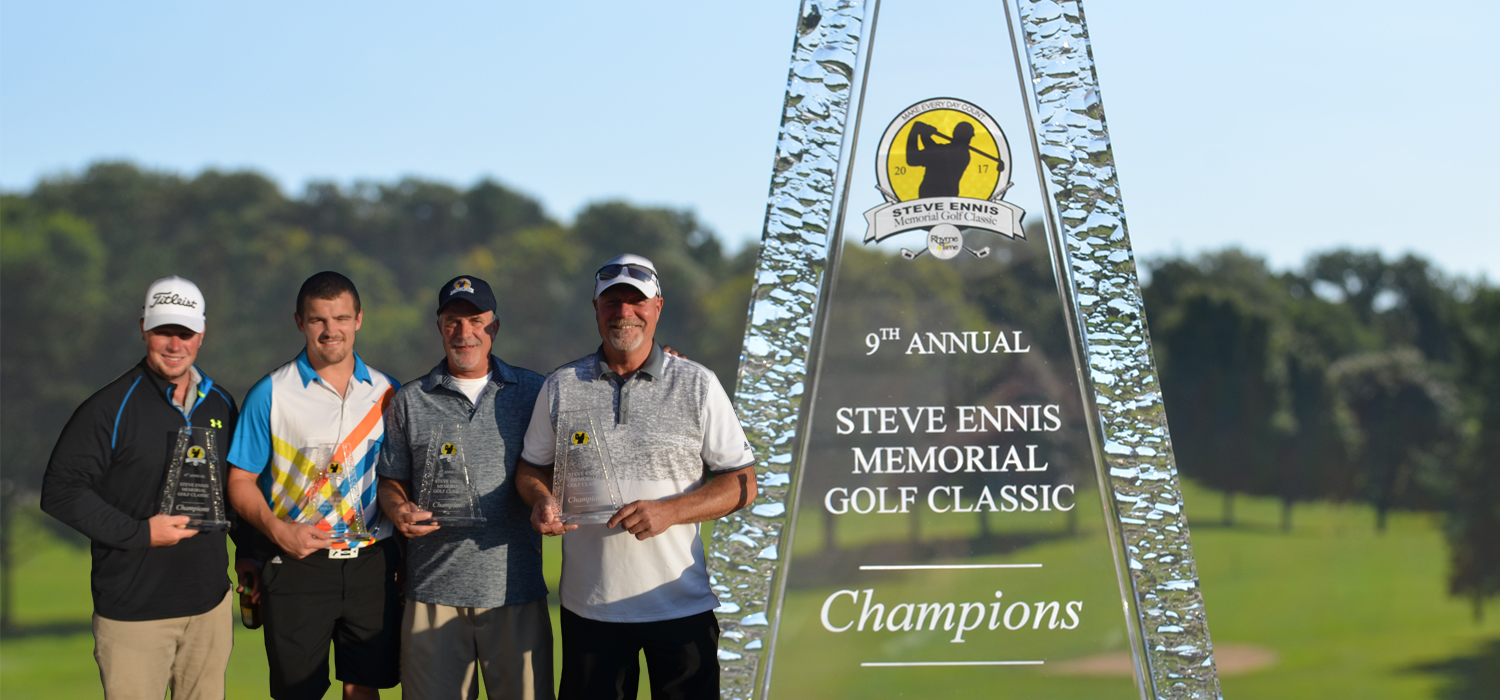 Thank you to all the supporters of the Steve Ennis Memorial Golf Classic & the Rhyme Time Scholarship Foundation!