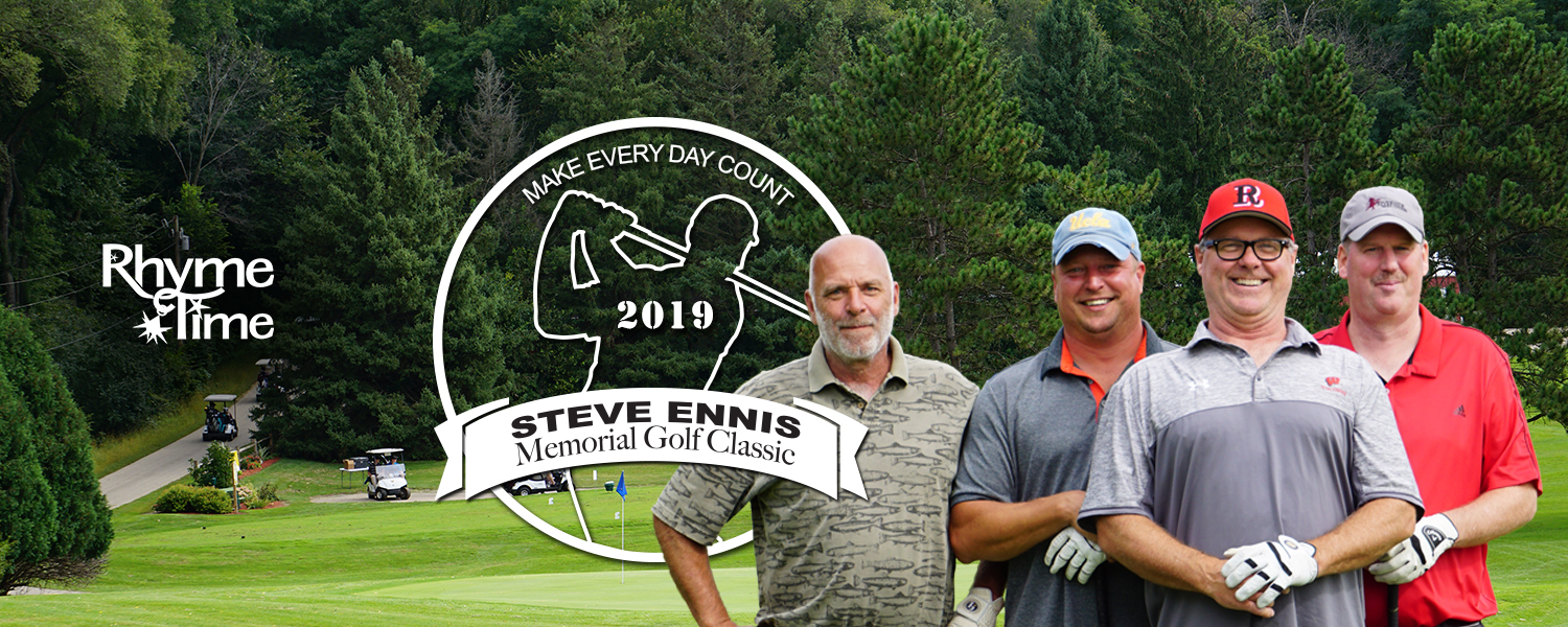 Join us at the 11th Annual Steve Ennis Memorial Golf Classic - September 14, 2019